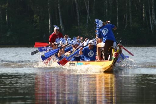 BILD zu TP - Das 2. Salzburger Drachenbootcup & Festival findet vom 15. bis zum 17. Juni 2007 in Bürmoos statt.