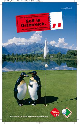 """BILD zu TP - Der """"Golf in Austria""""-Katalog 2007"""