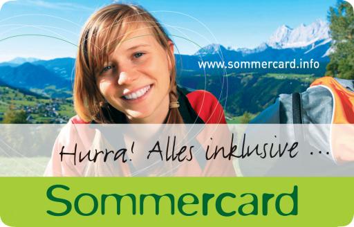 Mit über 100 kostenlosen Urlaubserlebnissen und über 70 Bonusleistungen, zählt die neue Sommercard der Dachstein-Tauern Region bereits im ersten Jahr zu den größten Inklusivkarten Österreichs.