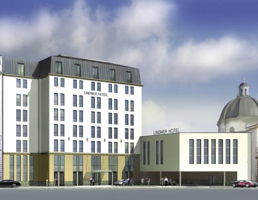 Das Vier Sterne Superior Lindner Hotel Am Belvedere eröffnet im Sommer in Wien
