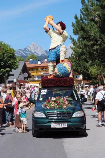 Der Europameister 2008 scheint in Seefeld schon festzustehen - war Italien doch der EM-Pokal auf der Weltkugel gewidmet.
