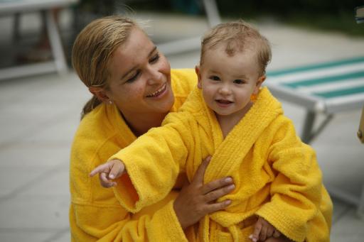 Wohlbefinden für Mutter und Kind wird im Cavallino Bianco groß geschrieben