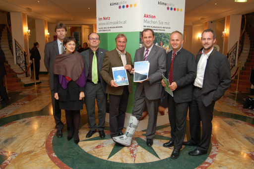 """Im Rahmen der """"klima:aktiv Tagung"""" wurde am 8. Oktober 2007 in Wien die Ferienregion Nationalpark Hohe Tauern GmbH als Projektpartner aufgenommen."""