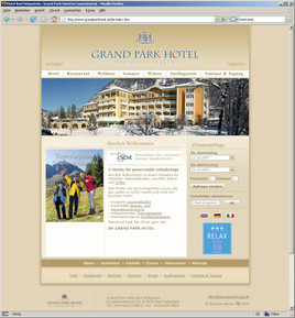 Fotograf: Grand Park Hotel Bad Hofgastein, Fotocredit: Grand Park Hotel Bad Hofgastein