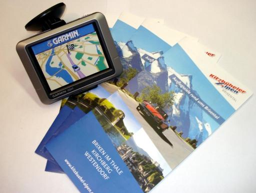 Ab sofort stellt der Tourismusverband Kitzbüheler Alpen - Brixental seinen Gästen insgesamt 8 GPS Geräte zur Verfügung. Darin gespeichert sind bereits sämtliche Attraktionen und Sehenswürdigkeiten im Tiroler Unterland. Mit einem Klick werden z.B. der Wildpark, die Kristallwelten oder die Sommerrodelbahn und der Weg dahin sofort gefunden.