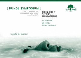 "Bild zu 2. Dungl Symposium - ""Burn-Out & Stressmanagement - work for life balance"""