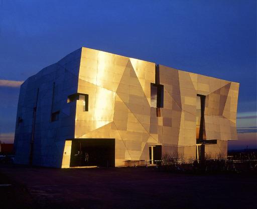 Loisium, Besucherzentrum geplant von Steven Holl