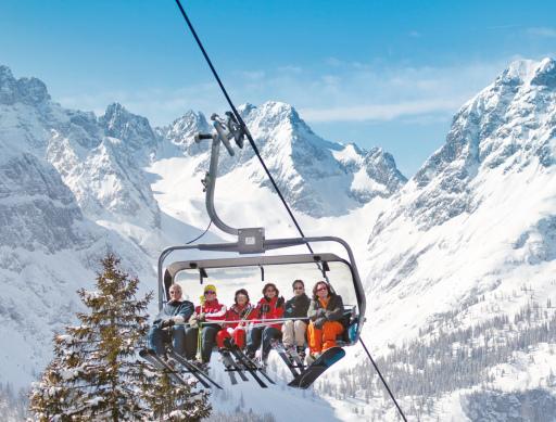 Warme Auffahrt - Coole Abfahrt - die neue 6er Sesselbahn auf der Ehrwalder Alm