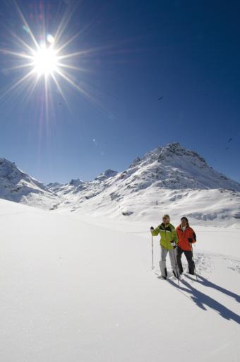 Winterwandern und Skitouren in der AlpenSZENE Montafon
