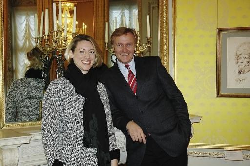Präsidentin Bibiane Krapfenbauer-Horsky und Museumsdirektor Klaus Albrecht Schröder