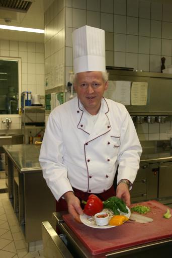 Küchenchef Franz Schönegger