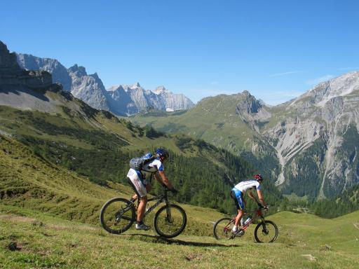 Neuer kostenloser Mountainbikeführer der Silberregion Karwendel/Tirol