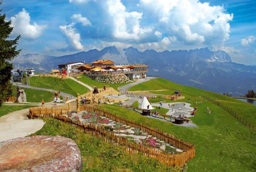 6 auf einen Streich - die einzigartigen Erlebniswelten der SkiWelt Wilder Kaiser-Brixental