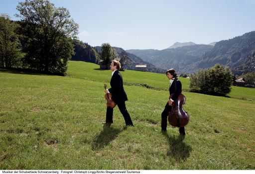 Musiker der Schubertiade Schwarzenberg