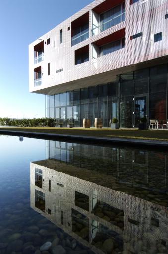 wine & spa resort LOISIUM Hotel - Innenhof