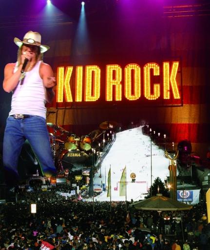 """""""Kid Rock am 7. Dezember 2008 auf der Planai"""" Ð diese Meldung hat eingeschlagen."""