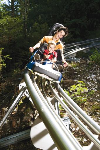 Der Alpine-Coaster-Golm ist der neue Freizeittipp im Montafon!