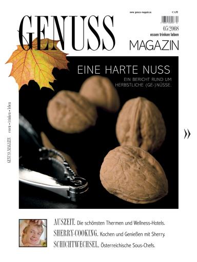 Die neue Ausgabe des GENUSS.MAGAZINs ist seit Anfang September in österreichischen Trafiken und im Zeitschriftenhandel erhältlich. ... und wann genießen Sie?