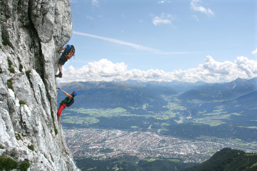 Klettersteig Innsbruck : Klassiker für kletterer innsbruck tourismus 05.09.2008