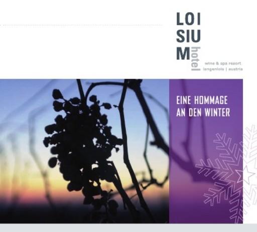Wein & Design als Erfolgsfaktoren - LOISIUM Hotel & LOISIUM Kellerwelt auch 2008 erfolgreich und ein wichtiger Wirtschaftsfaktor der Region - BILD/ANHANG