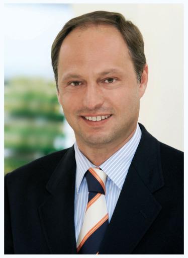 Michael Franek, Vorstand der MERKUR Warenhandels AG