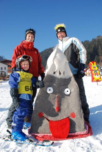 Familie Strack aus der Nähe von Stuttgart mit Karwendolin