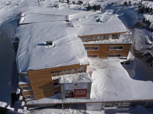"""Mitten im """"Schneeloch"""" Obertauern errichtet die erfolgreiche Hoteliersfamilie Perner/Alpenhotel Perner das neue Designhotel """"Manggei""""."""
