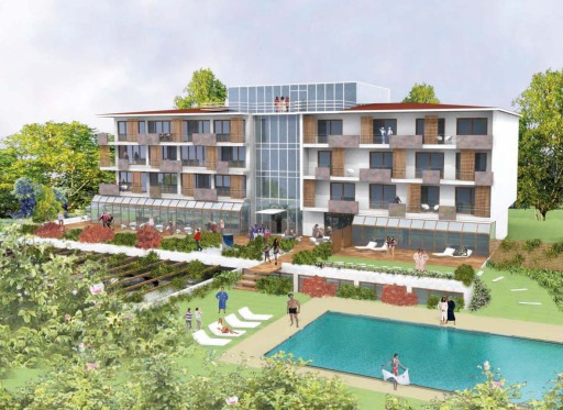 Anfang Mai eröffnet Europas erstes 4 Elemente Hotel in Pörtschach am Wörthersee