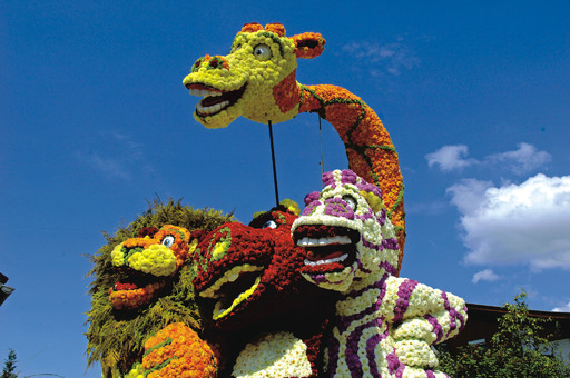 Besonders beliebt bei Jung & Alt ist das Korsofest in Kufstein, eingebunden in den Blumenkorso von Ebbs. Heuer findet die bereits zum Kult avancierte Veranstaltung am 22. und 23. August statt.