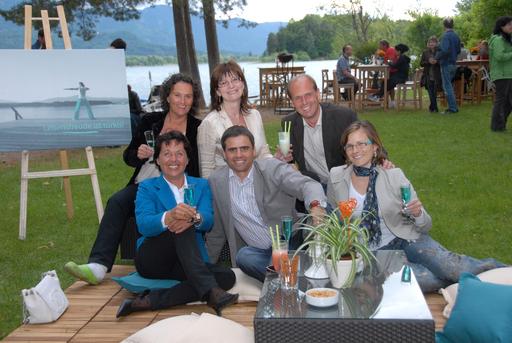 v.l.n.r.: vorne: Burgi Plamenig, Thomas Michor, Ursula Melcher hinten:Michaela Widnig, Andrea Pfund-Gitschtaler, Christian Poglitsch