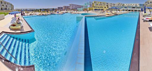 Beste Leistung, tolle Qualität und ein unschlagbar fairer Preis zeichnen auch dieses neue Falkensteiner Hotel aus, dass Teil der 30hektar großen Ferienanlage Punta Skala ist.