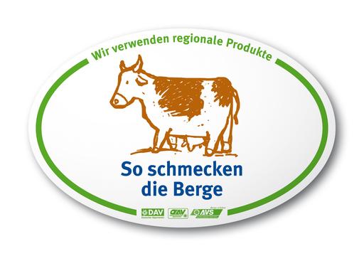 """Logo """"So schmecken die Berge"""""""