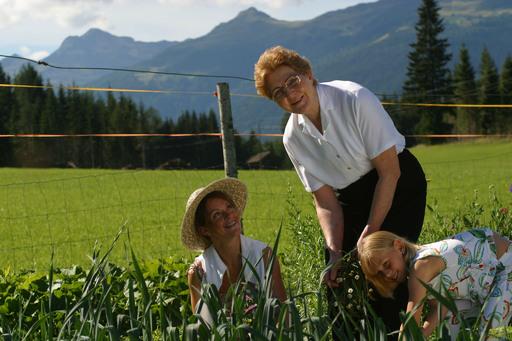 Der Bauernhof des Familienhotels Kreuzwirt mit Streichelzoo und biologischer Landwirtschaft wirkt nicht nur auf Kinder magnetisch.