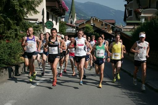 Erster Harakiri Grand Prix Berglauf in der Ferienregion Mayrhofen/Hippach - 14 Nationen und die gesamte Weltellite des Berglaufs ging an den Start.