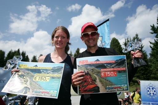 Der Favorit Jonathan Wyatt als Erster nach 53 Minuten durchs Ziel lief. Bei den Damen siegte die Österreicherin Andrea Mayer.