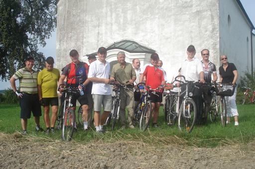"""Am Mittwoch, den 26. August wurde mit dem """"Welser Jakobsweg"""" ein weiteres wichtiges Wegstück eröffnet."""