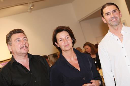 v.l.n.r.: Siegfried Läugner, Andrea Binder, Michael Walent