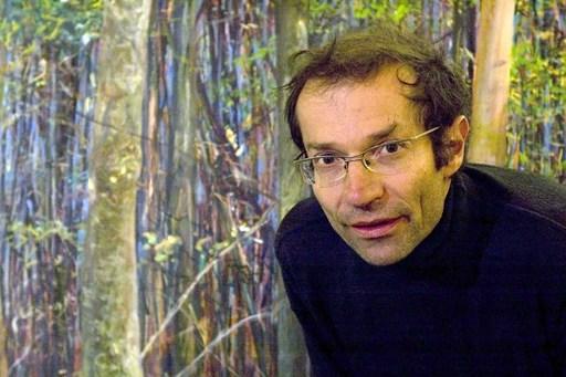 """Markus Orsini-Rosenberg, """"Logar, Herbst, Abend"""" (Öl auf Leinwand, 1,70 x 3,00 m, 2008 - 09)"""