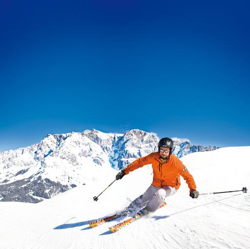 Königliches Skivergnügen in der Region Hochkönig