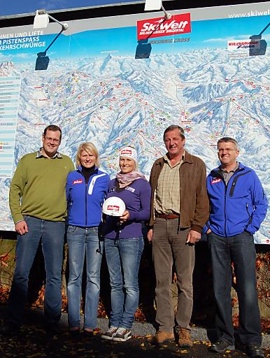 SkiWelt Wilder Kaiser - Brixental wirbt mit Ski-Weltcupläuferin Maria Holaus