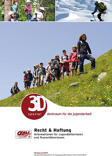 Gerade druckfrisch erschienen: Das neue 3D special zum Thema Recht und Haftung.