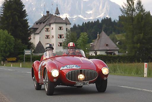 23. Kitzbüheler Alpenrallye - 200 der schönsten Automobilklassiker aus vergangenen Jahrzehnten unterwegs in den Kitzbüheler Alpen.