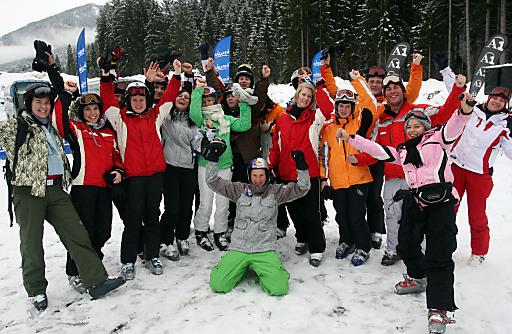 Bereits zum 7. Mal findet die Wintersportwoche S'COOL, SKI & BOARD statt.