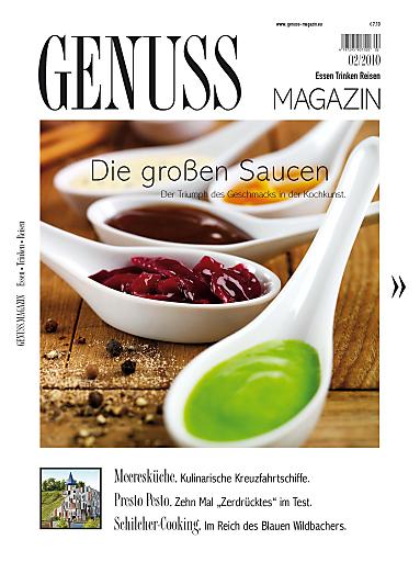 Die neue Ausgabe des GENUSS.MAGAZINs ist seit 3. März im österreichischen Zeitschriftenhandel erhältlich.