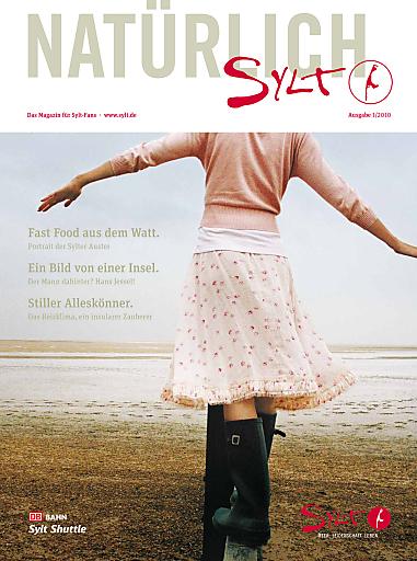 """""""Natürlich Sylt"""" - Die Sommerausgabe 2010 kann kostenlos bei der Sylt Marketing angefordert werden."""