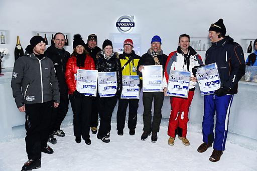 Die Sieger der Volvo XC Golf Challenge..