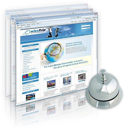 www.wizztrip.com kümmert sich um eine ansprechende Präsentation des Hotels und wickelt den Gutscheinverkauf ab. Hoteliers finden in wizzTrip einen starken Partner, mit dem sie bei minimalem Aufwand die Vorteile des Internets und der Sozialen Netzwerke nutzen können.