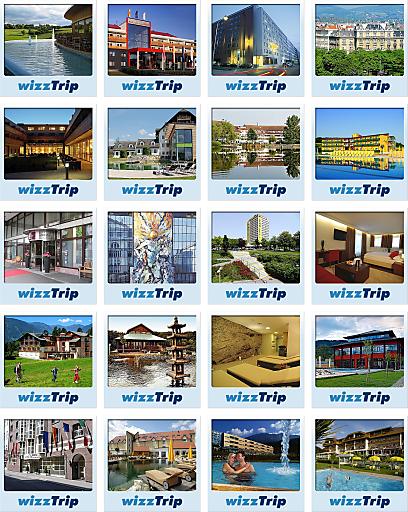 Roitner.net veröffentlicht unter www.wizztrip.com ein eigenes internationales Internet-Portal für Hotelgutscheine.
