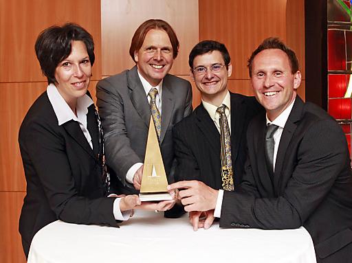 Energetisches Team (v.l.n.r.): Mag. Petra Miklautz, DI Eckhard Sauper, Ing. Gerold Hampl, DI Hannes Gritzner.