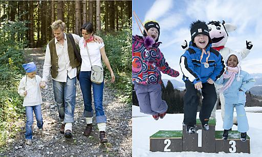 Wer jetzt seinen Sommerurlaub 2010 in einem der beiden urig, gemütlichen DORFHOTELs in Kärnten bucht erhält einen fünftägigen Winterurlaub inkl. gratis Schifahren auf der Baumgartner Höhe dazu.